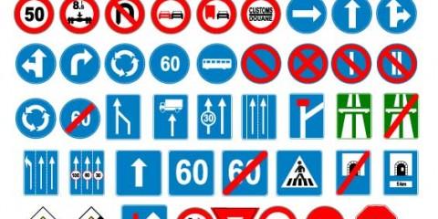 Impresion señales de trafico