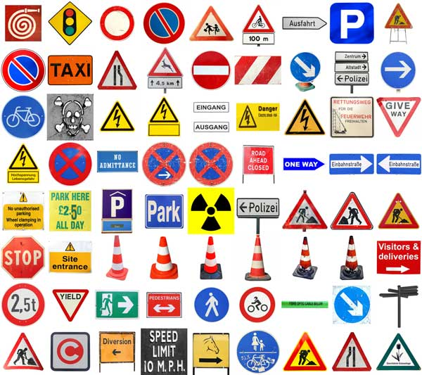 Impresion de señalizaciones direccionales